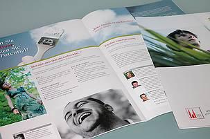 Beispiel für Print-Design